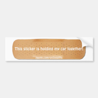 Funny Bandaid Car Sticker Bumper Stickers