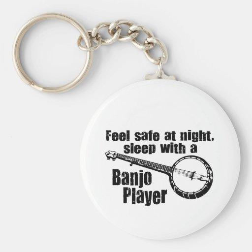 Funny Banjo Key Chains