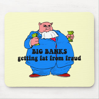 Funny banks mouse pad