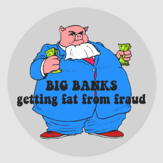 Funny banks stickers