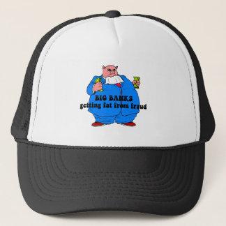 Funny banks trucker hat