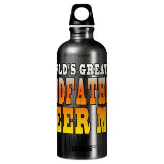 Funny Baptisms Birthdays Worlds Greatest Godfather SIGG Traveler 0.6L Water Bottle