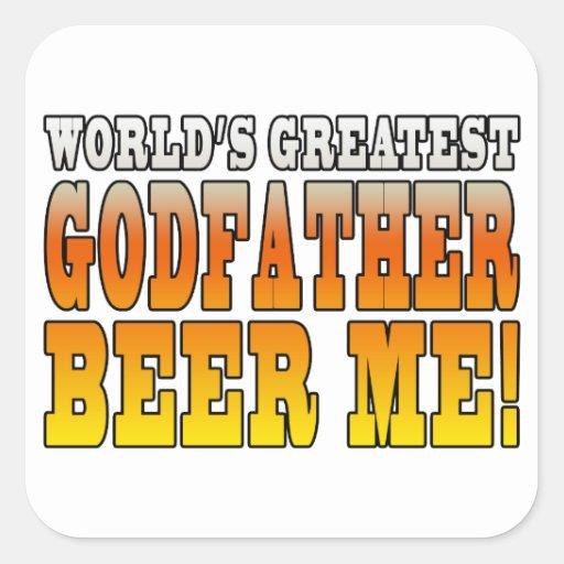 Funny Baptisms Birthdays Worlds Greatest Godfather Stickers