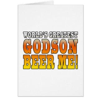 Funny Baptisms Birthdays Worlds Greatest Godson Card