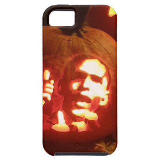 Funny Barack Obama Halloween Carved Pumpkin Iphone iPhone 5 Cases