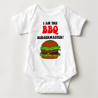 Funny barbecue baby bodysuit