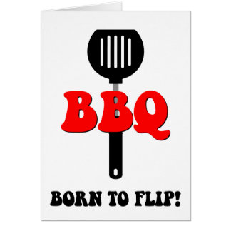 Funny barbecue card