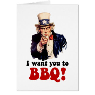 Funny barbecue cards