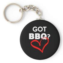 Funny Barbecue Design got bbq Keychain