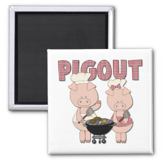 Funny Barbecue Gift Refrigerator Magnets