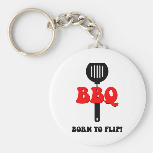 Funny barbecue key chains