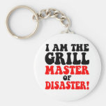 Funny barbecue keychains