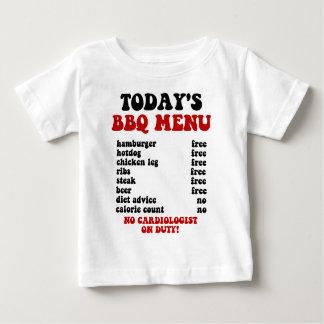 Funny Barbecue Menu Baby T-Shirt