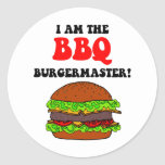 Funny barbecue stickers
