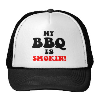 Funny barbecue trucker hat