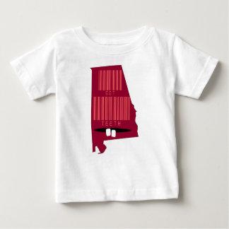 Funny Barcode Alabama State Slogan T Shirt