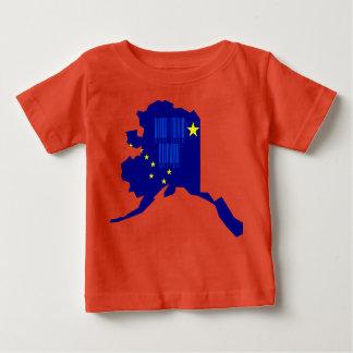 Funny Barcode Alaska State Slogan T Shirt