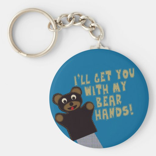 Funny Bare Hands Key Chains