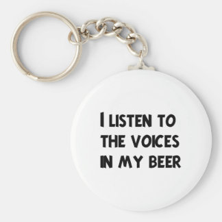 Funny Bartender T-shirts and Gifts Keychain