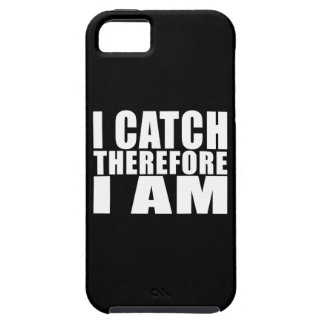 Funny Baseball Catchers : I Catch Therefore I Am iPhone SE/5/5s Case