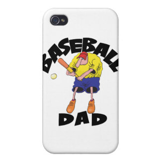 Funny Baseball Dad Father's Day iPhone 4/4S Case