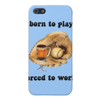 funny baseball iPhone SE/5/5s cover
