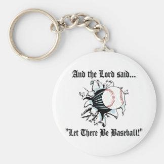 Funny Baseball Key Chain