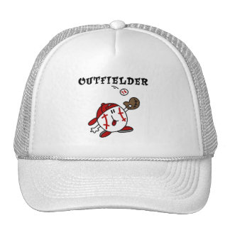 Funny Baseball Outfielder T-shirts and Gifts Hat