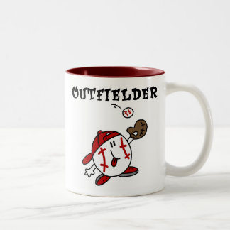 Funny Baseball Outfielder T-shirts and Gifts Mug