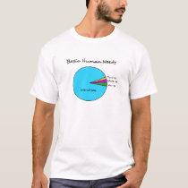 Funny Basic Human Needs (90% Internet) T-Shirt