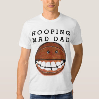 funny basketall gift for dad t-shirt