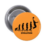 Funny basketball 2 inch round button