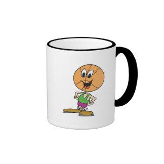 funny basketball character mug