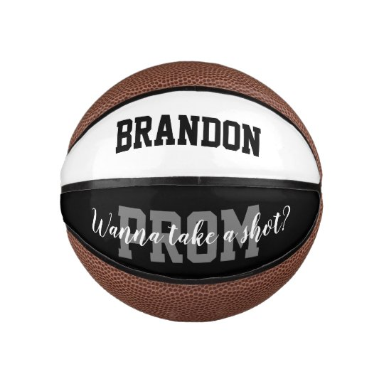 Funny Basketball Hoco Prom Proposal Gift Idea