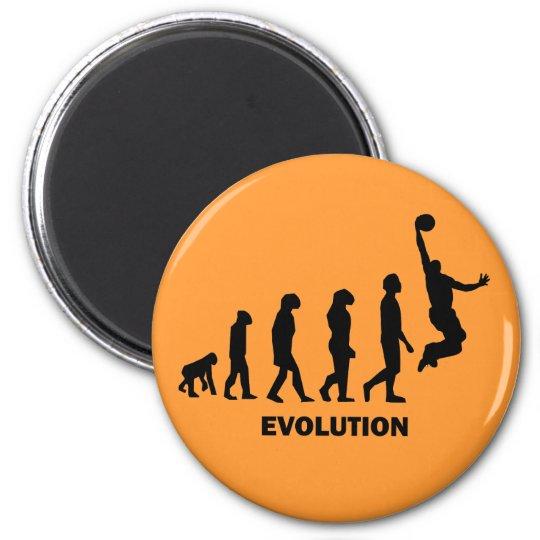 Funny basketball magnet