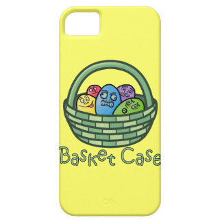 Funny Basketcase Easter iPhone 5 Cover