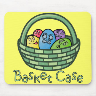 Funny Basketcase Easter Mouse Pads