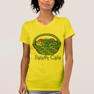 Funny Basketcase Easter Tee Shirt