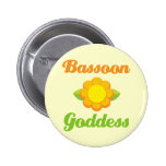 Funny Bassoon Buttons