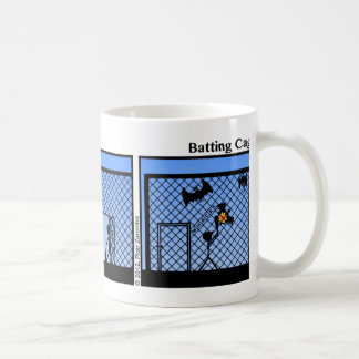 Funny Batting Cage Stickman Mug - 083