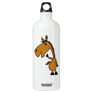 Funny Bay Horse SIGG Traveler 1.0L Water Bottle