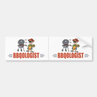 Funny BBQ Bumper Sticker