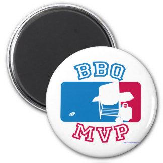 Funny BBQ mvp design Magnet