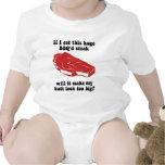 Funny BBQ Steak T-shirts