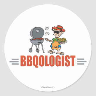 Funny BBQ Stickers