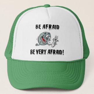 Funny Be Afraid Bowling Trucker Hat