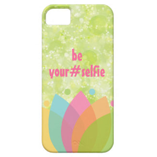 Funny Be Yourself Hashtag Quote iPhone SE/5/5s Case