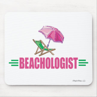 Funny Beach Chair Mouse Pad