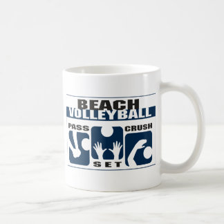 Funny Beach Volleyball Gift Coffee Mug