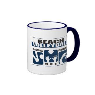 Funny Beach Volleyball Gift Mug